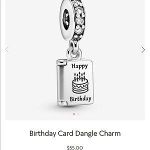 PANDORA | Birthday Card Charm
